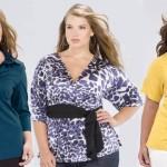tendencias de blusas 2013 para gordinhas