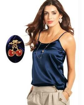 blusa de cetim 2013