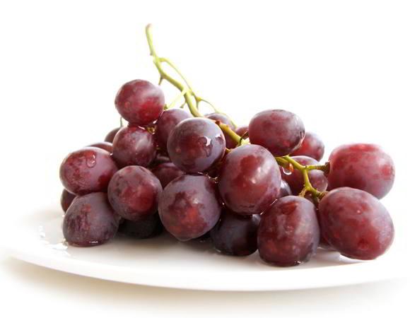 uvas para pele