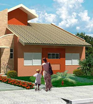 Como escolher a cor da fachada de casa