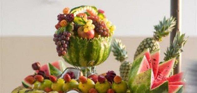 Decoraç u00e3o para festa de ano novo em casa -> Como Decorar Frutas Para Ano Novo