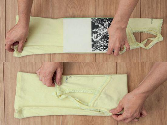 Dobrar camisas e blusas pode ser mais fácil do que você imagina (Foto: Divulgação)