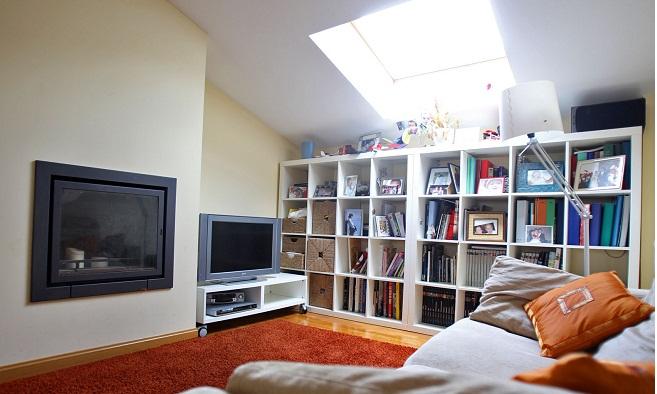 Sala De Tv No Sotao ~ Sala de TV no sótão  Vale o Clique!