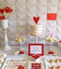 Decoração de mesa para Dia dos Namorados