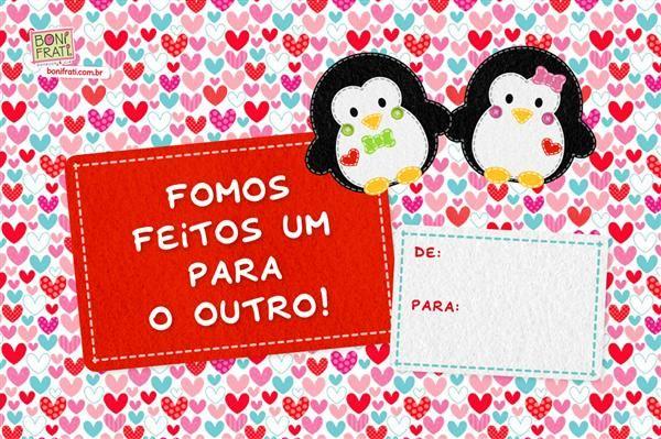 cartão com mensagem dia dos namorados