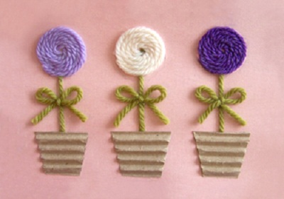 cartão de lã
