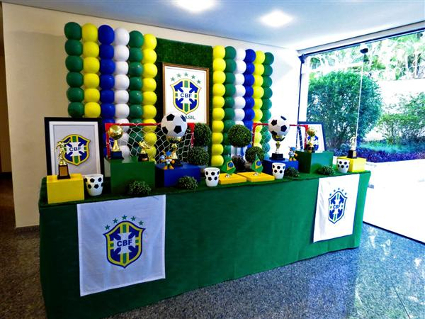 decoracao tema copa (Custom)