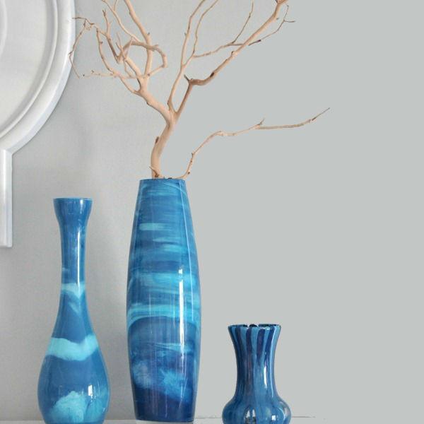 Vasos decorativos para fazer em casa