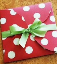 Envelope decorado fácil de fazer