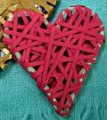 Corações decorados