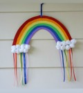 Arco íris de papel