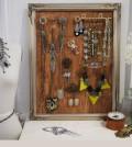 Quadro porta jóias