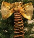 Anjo de Natal em arame