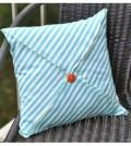 Capa de almofada tipo envelope