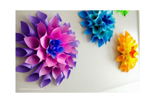 decora o   flor d lia de papel passo a passo
