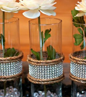 Tima ideia de centro de mesa r stico para casamento - Centro de mesa rustico ...