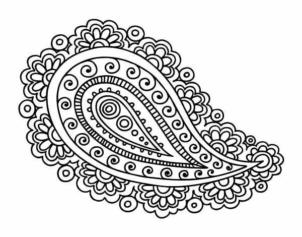 dibujo oriental imprimir: