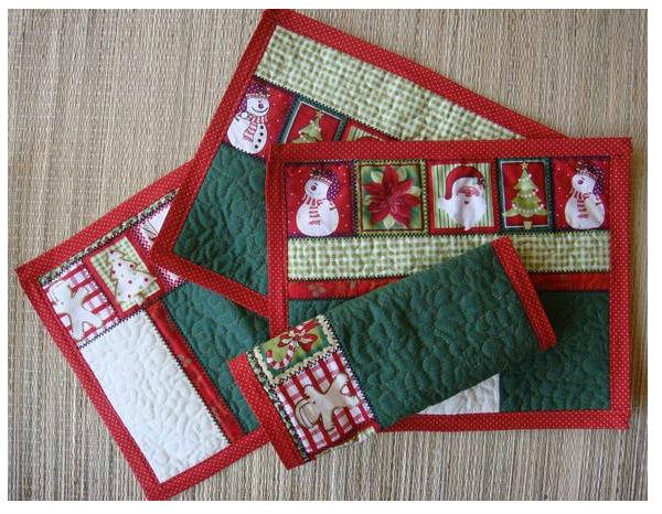 Artesanato Vintage Passo A Passo ~ Ideias de artesanatos em tecido para o Natal 2016