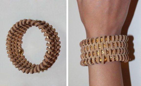 Este bracelete de pulseiras pode ter o estilo que você desejar (Foto: alldaychic.com)