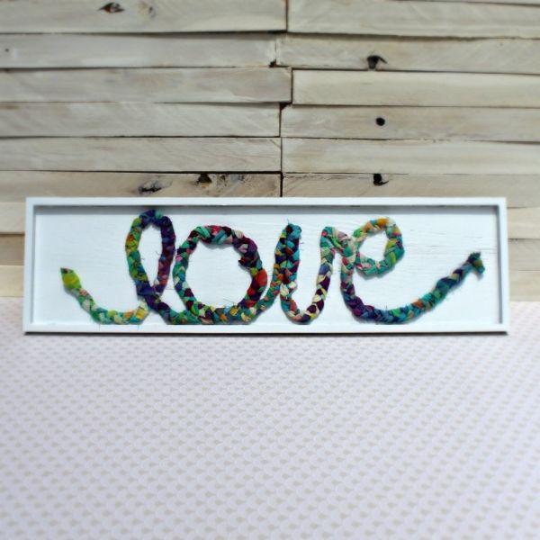 Hoje dedique um tempo de seu dia para fazer esta ideia de artesanato com retalhos de tecido (Foto: averageinspired.com)