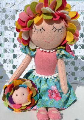 Faça já pelo menos uma bonequinha de feltro (Foto: esculturaldesign.blogspot.com.br)