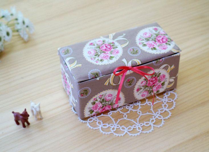 Caixinha feita de caixa de leite é linda e barata (Foto: handmadiya.com)