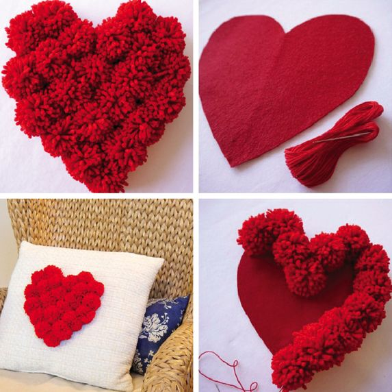 Ideias de Como Decorar Almofadas para o Dia dos Namorados   1