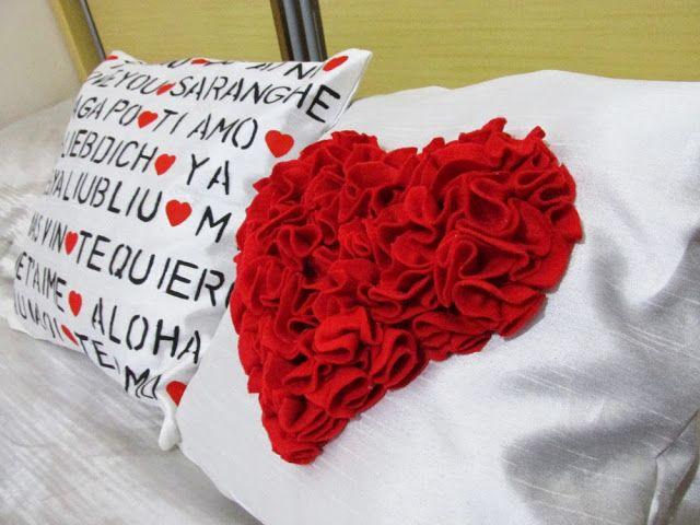 Ideias de Como Decorar Almofadas para o Dia dos Namorados   6