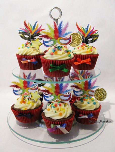 bolo carnaval dois andares