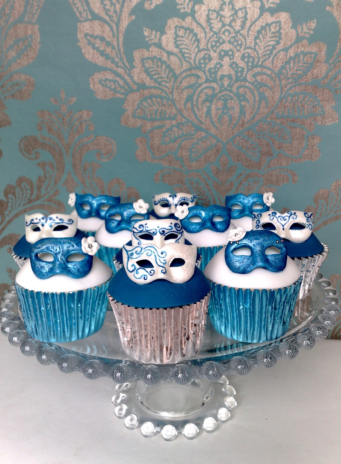 bolo carnaval cupcake