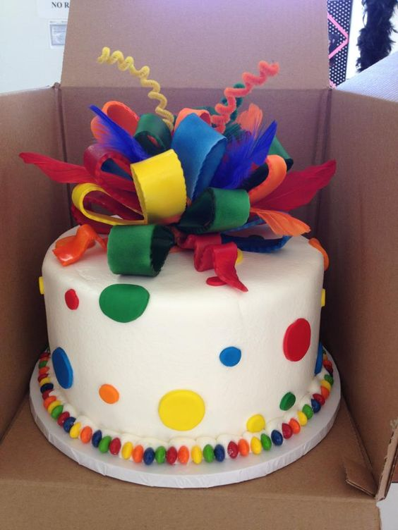 Clown Fish Cake Ideas