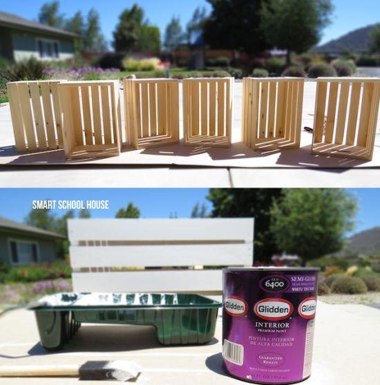 dicas de moveis feitos com caixotes
