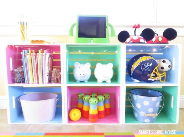 como decorar a casa com caixotes