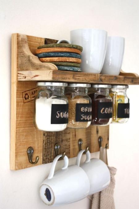 ideia de artesanato para pia da cozinha