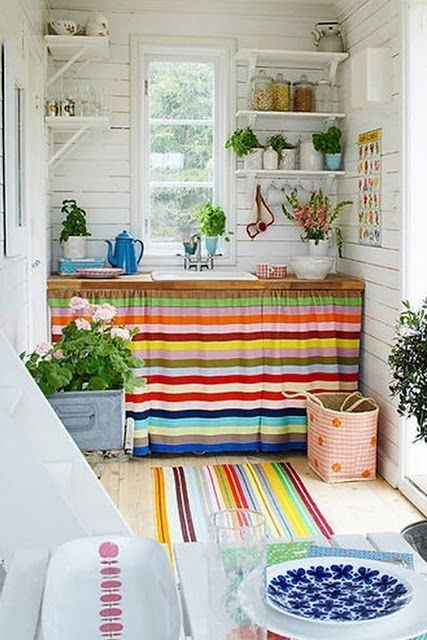 artesanato para pia da cozinha passo a passo