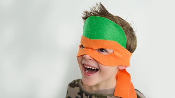 mascara tartaruga ninja