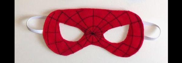 mascara homem aranha