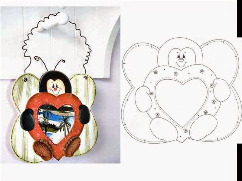 abelha coração