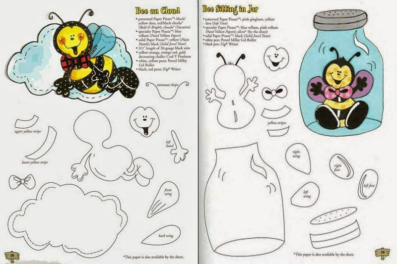 abelha no pote
