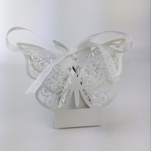 lembrança de casamento borboleta