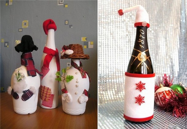 garrafa para natal