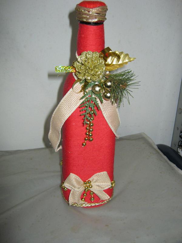garrafa natalina