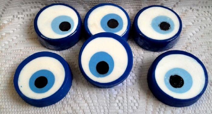 sabonete feito em casa olho grego