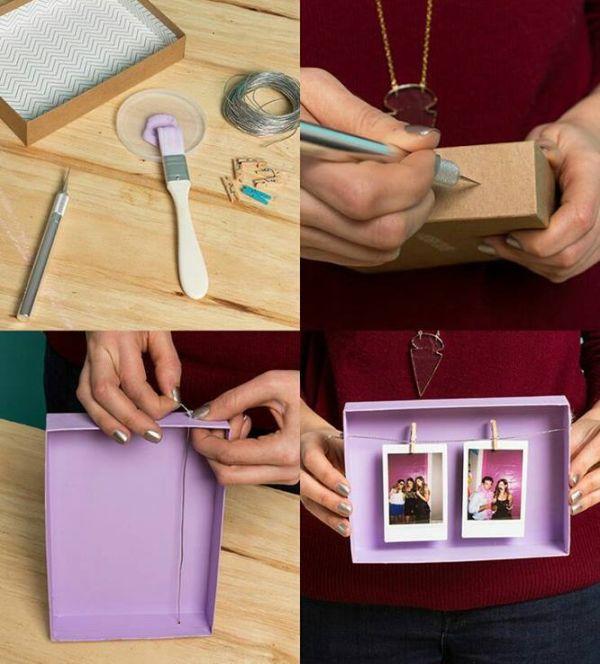 Porta retrato de papel o como fazer passo a passo for Como criar cachamas en estanques