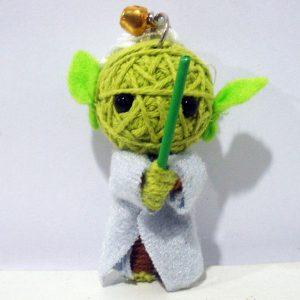 artesanato com linha bonecos
