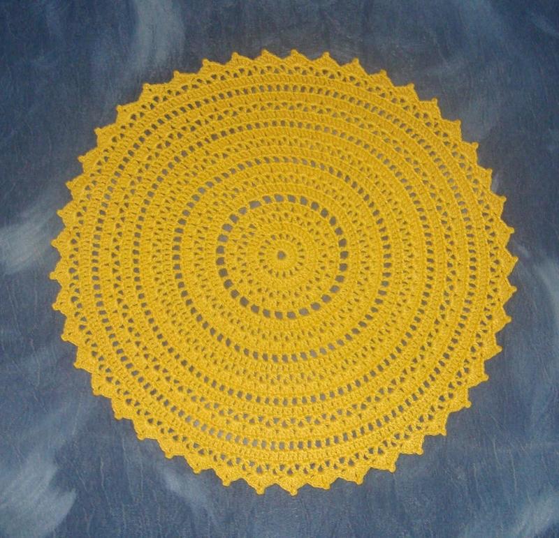 croche amarelo