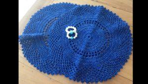 croche azul