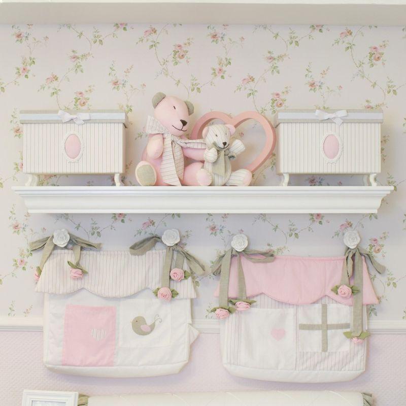 prateleira para quarto de bebe decor