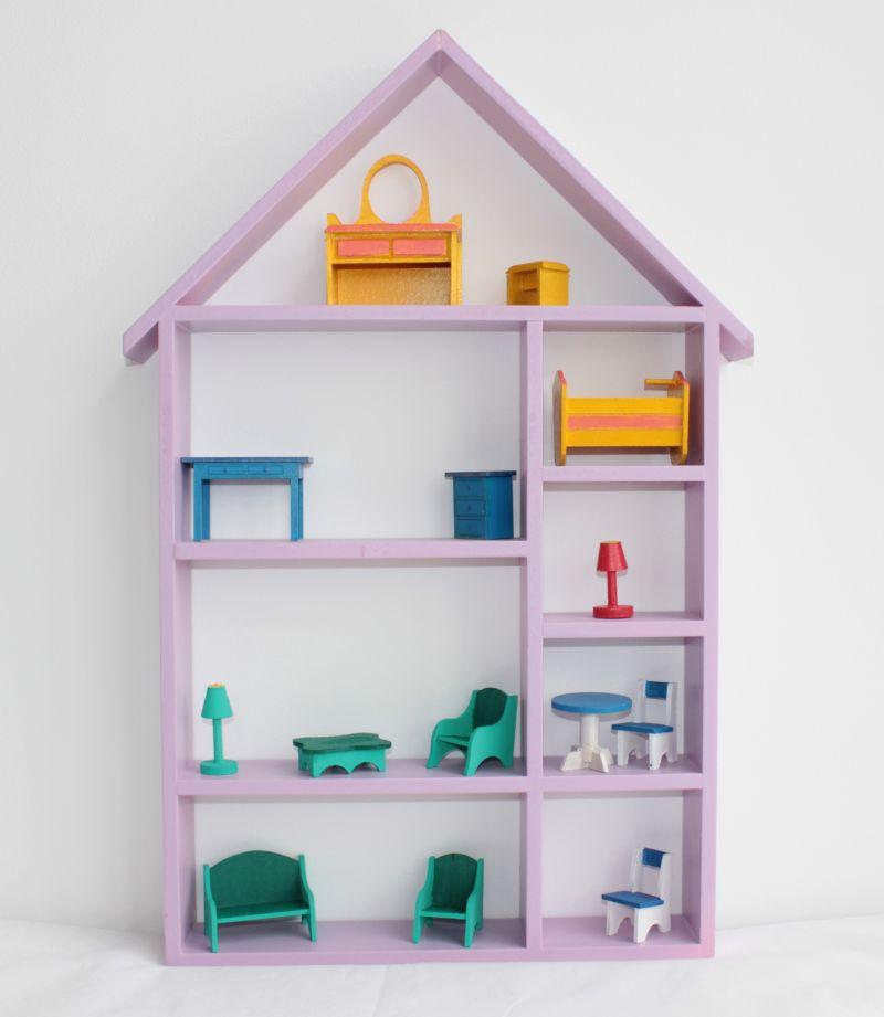 prateleira para quarto de bebe casinha