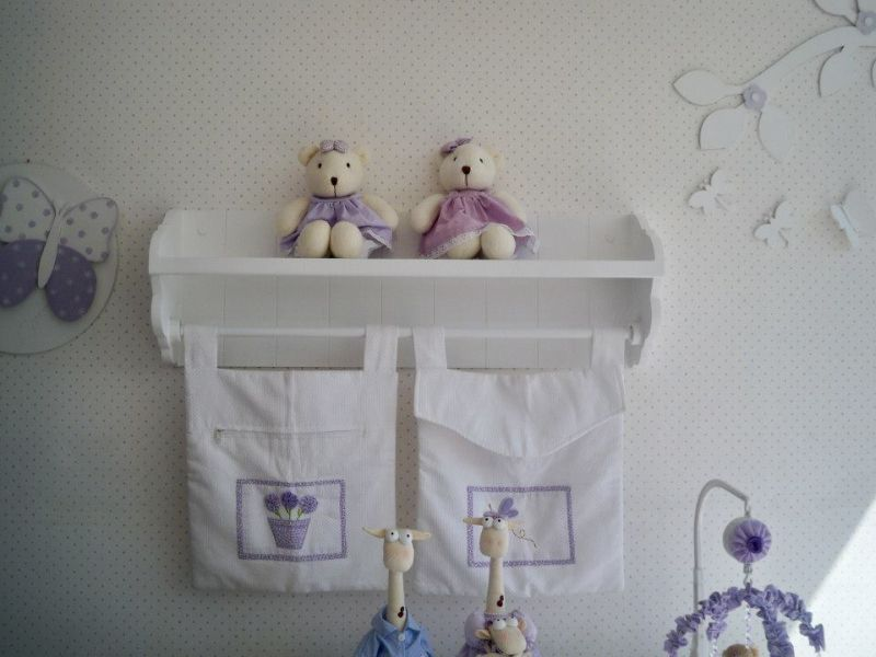 prateleira para quarto de bebe varao